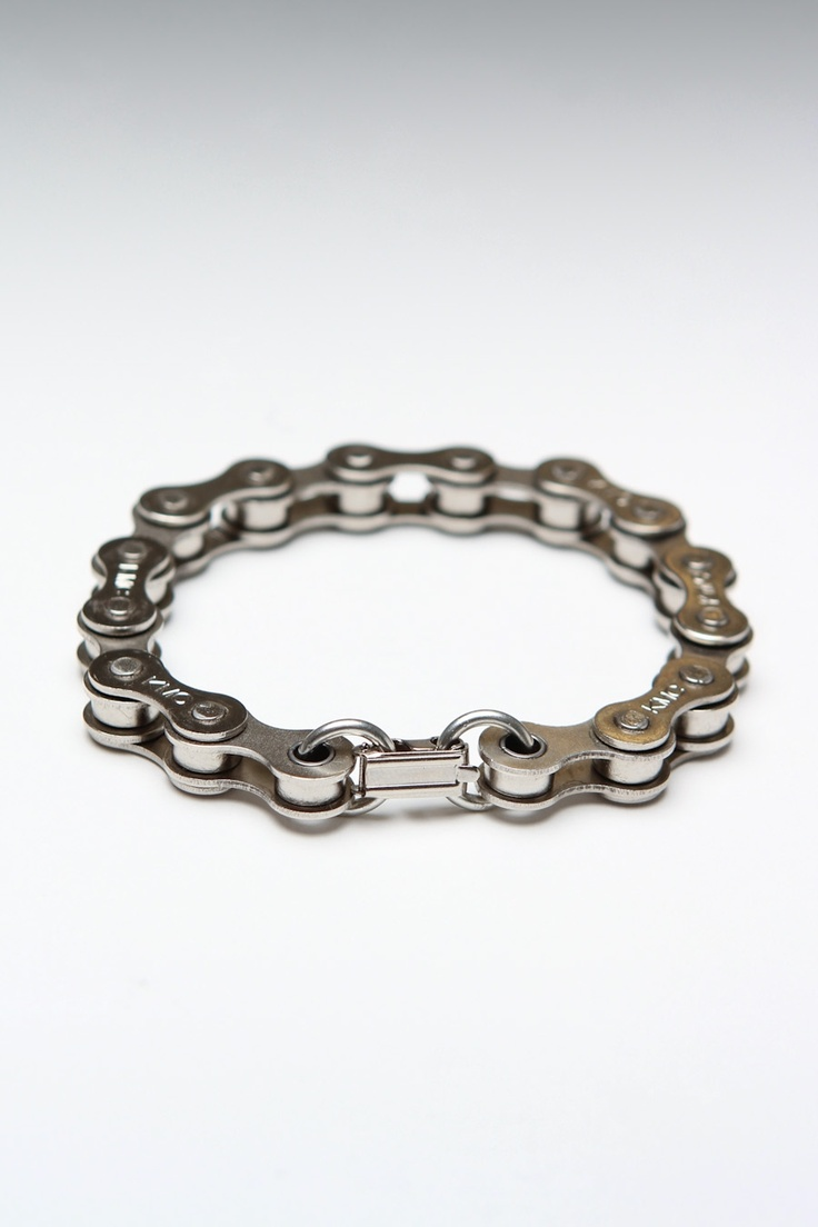 Bicycle gear bracelet.