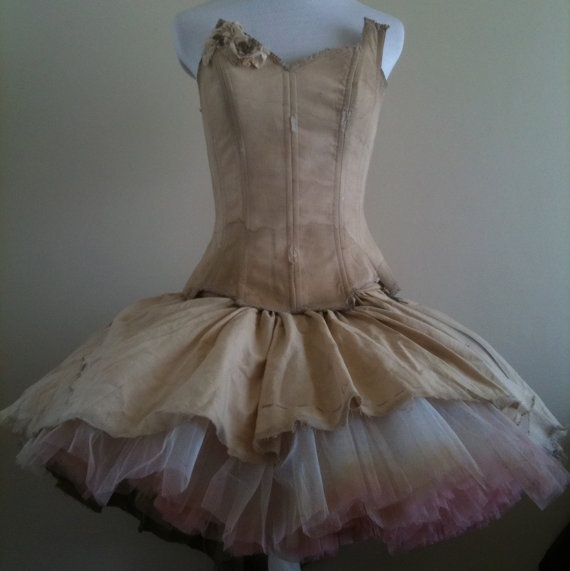Tutu and Corset by Stolin on Etsy, $159.00