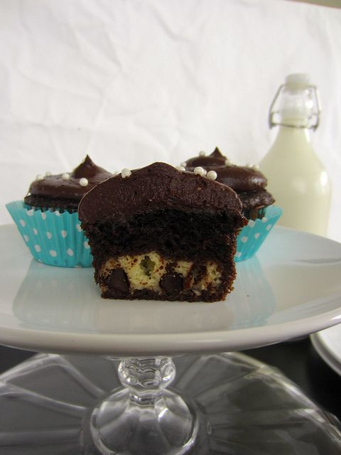 Chocolate Cream Cheese Cupcakes by Beyond Frosting, via Flickr