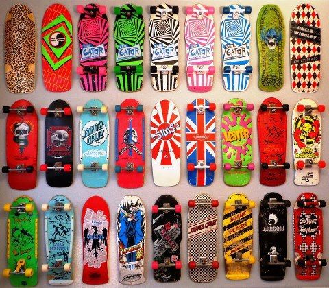 Classic Decks Skateboarding Had a few of these...