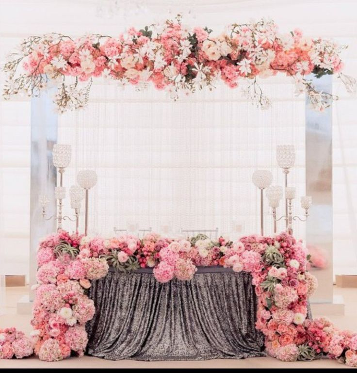 Romantische Blumendeko in Pastell!