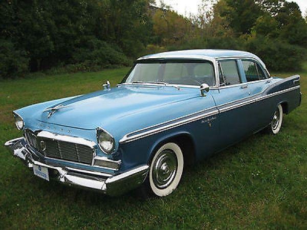 1956 chrysler new yorker 4 door sedan cars pinterest for 1956 chrysler new yorker 4 door