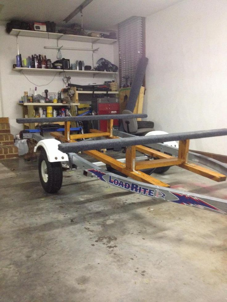 Convert Trailer for Kayaks | Topic: Converted jet ski trailer to kayak trailer (Read 2653 times)