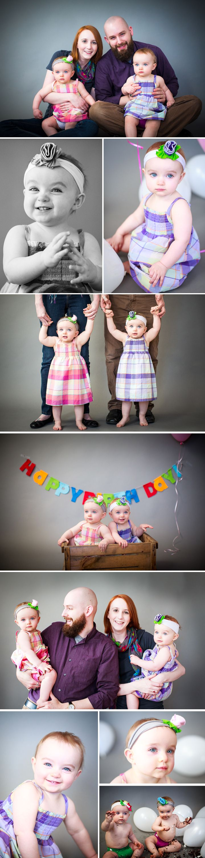First Birthday-Twins-Photo session by DSD Media Studios