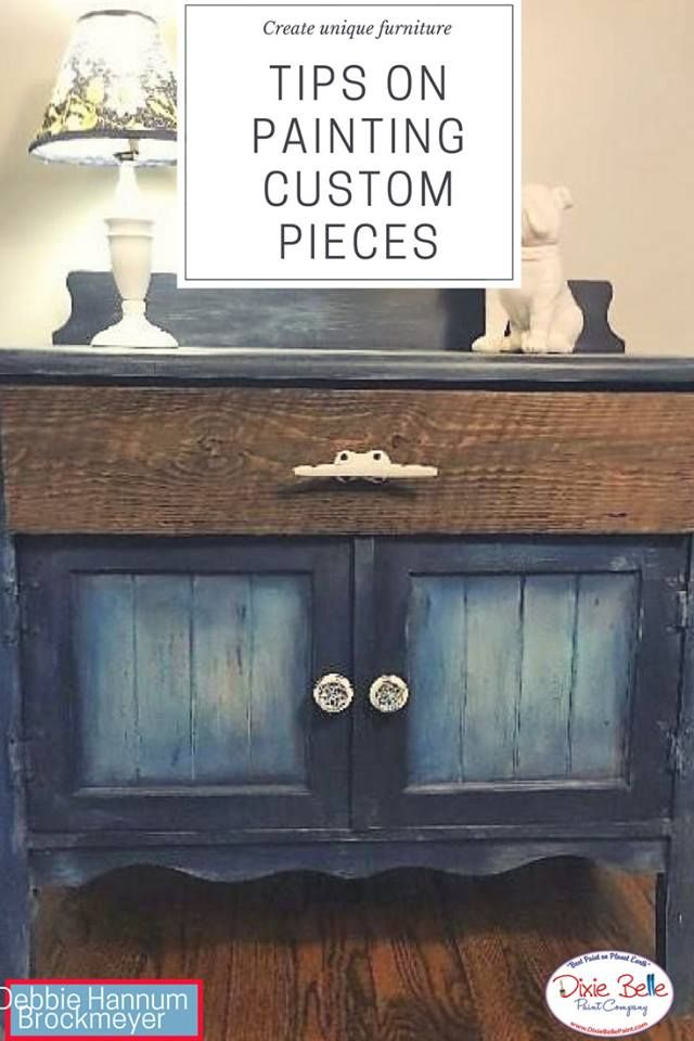 Learn To Paint With Chalk Mineral, How To Use Chalk Paint On Furniture