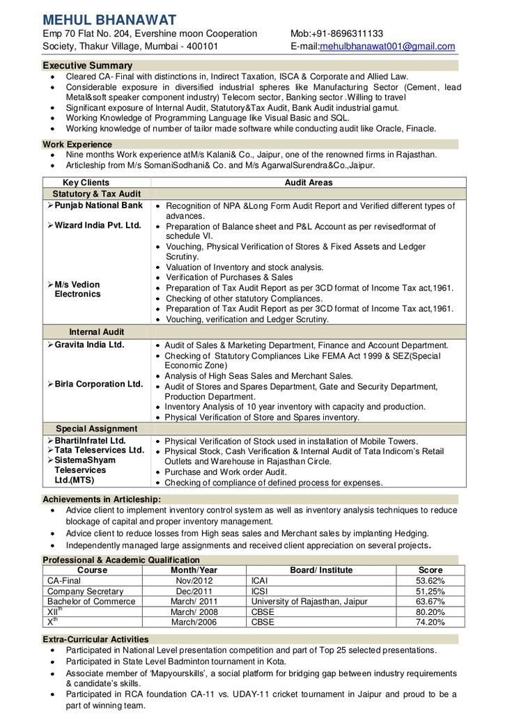 Resume Format Checker Resume format, Resume, Resume