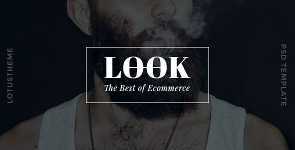Look - Ecommerce PSD Template