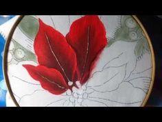 Como Pintar un Centro de Mesa con Bordado Líquido- Hogar Tv por Juan Gonzalo Angel - YouTube