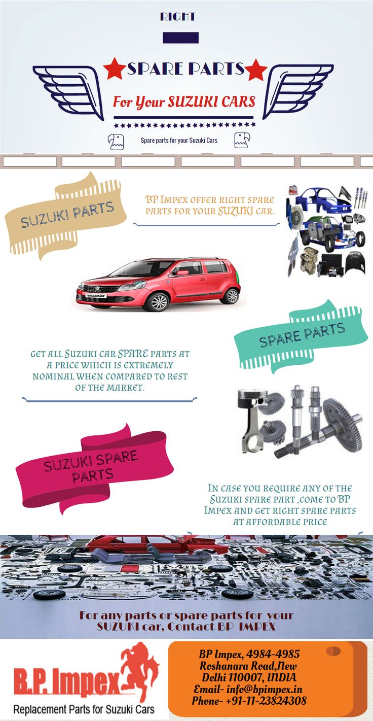 14 best suzuki spare parts infographics images on pinterest suzuki spare parts dealer bp auto spares india always want to stay one step ahead in its endeavour to achieve market excellence by providing high quality fandeluxe Images