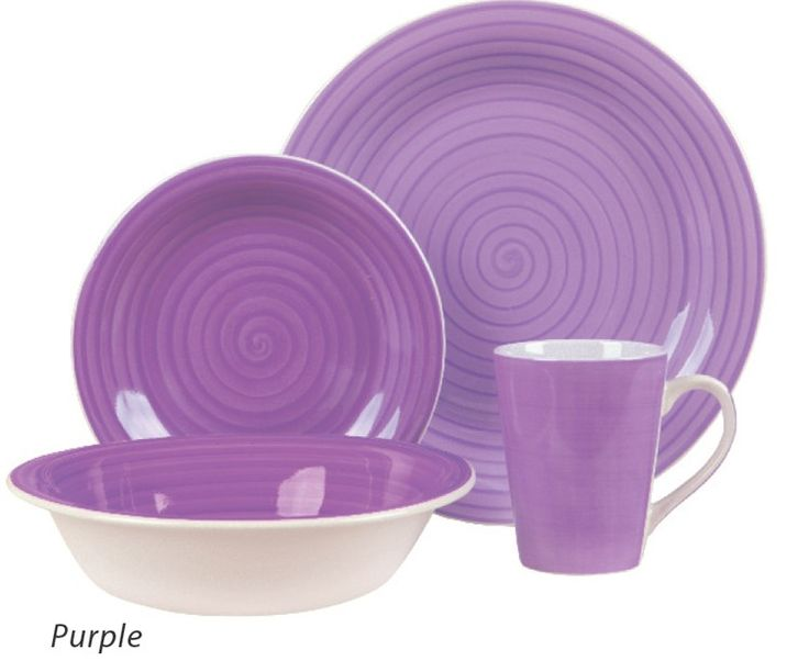 Color Lila - Lilac!!! Dinnerware set