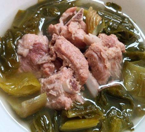 Baikut Sawi Asin (chinese food) mudah banget ala rumahan