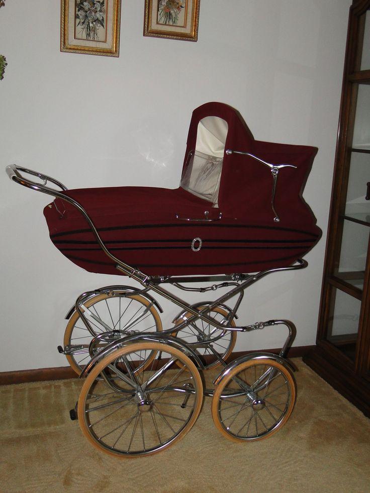 Stylin 1970's Giuseppe Perego Baby Buggy/Pram/Stroller