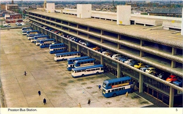 Preston bus station might be a masterpiece of Brutalist architecture, but would you really want to own a postcard version? | 19 Hilariously Dull British Postcards