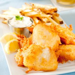 Canada's Best Fish and Chips -  Red Fish Blue Fish, Victoria BC