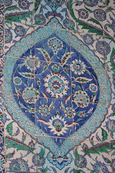 Iznik ceramic in the Blue Mosque