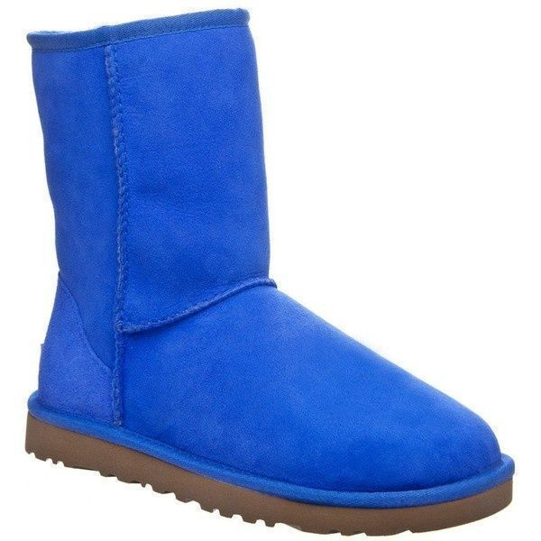 #UGG #Boots,#cheap #ugg, #fashion #ugg, #SHEEPSKIN #UGG #BOOTS, women ugg UGG Womens Classic Short Boots - Deep Periwinkle 7 ($155)  liked on Polyvore ugg boots outlet
