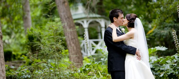 Beautiful shot by the Gazebo #chateauwyuna #wedding #bride #groom #mrandmrs #weddingreception #married #gazebo #romantic