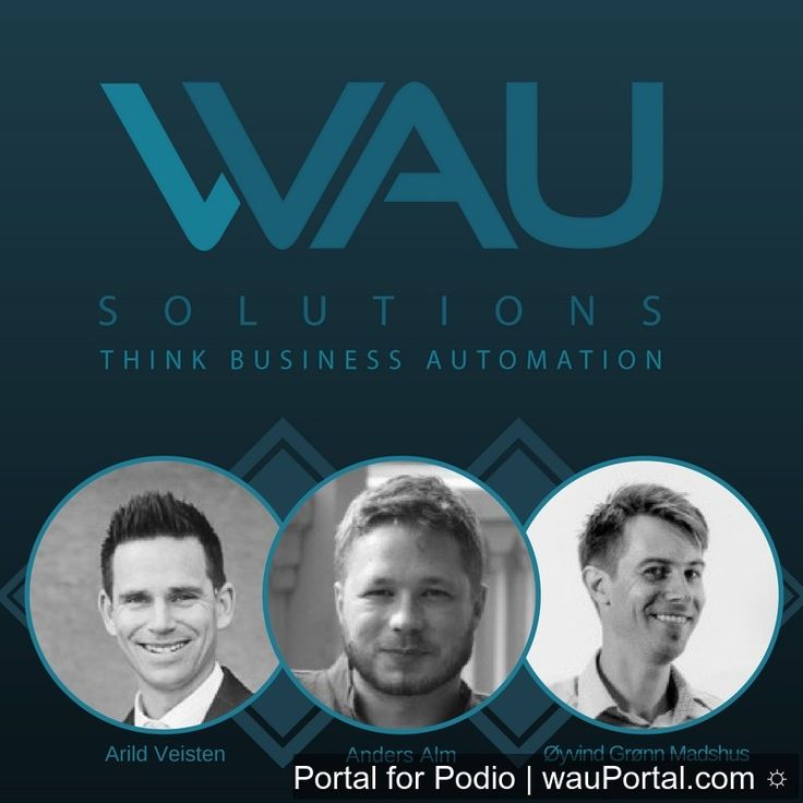 Three friends brought together by their creativity and innovation built WAU Solutions to continuously promote and pursue their passion for technology. Know more about our services, visit our website: www.wau.co #automation  #technology  #business  #podio  #wausolutions
