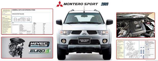 Mitsubishi Montero Sport 2009 Workshop Manual Mitsubishi Pajero Sport Mitsubishi Pajero Mitsubishi