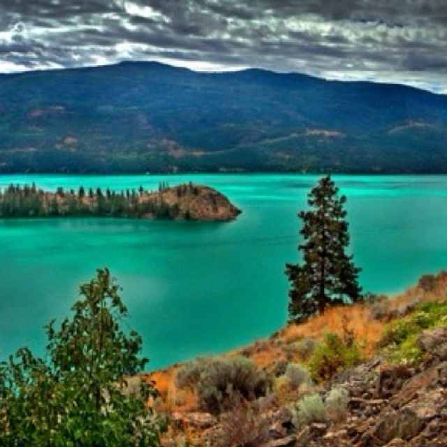 Kalamalka Lake in B.C best place on earth! Meaning - Lake of many colors...