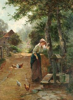 Ernest Charles Walbourn. At the Well