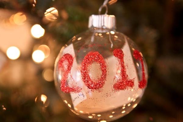 annual Christmas ornaments