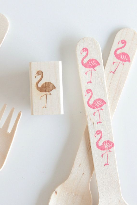 diy flamant rose