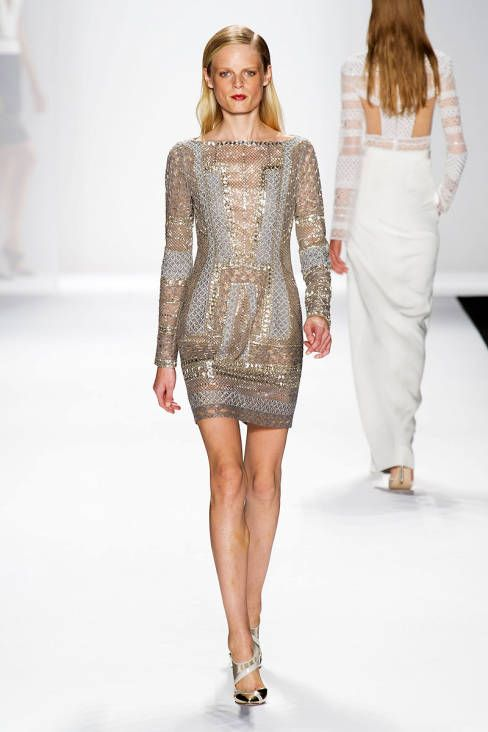 J. Mendel SS14 RTW :: Hanne Gaby Odiele | i'm obsessed with this. ah-hub-sessedddd