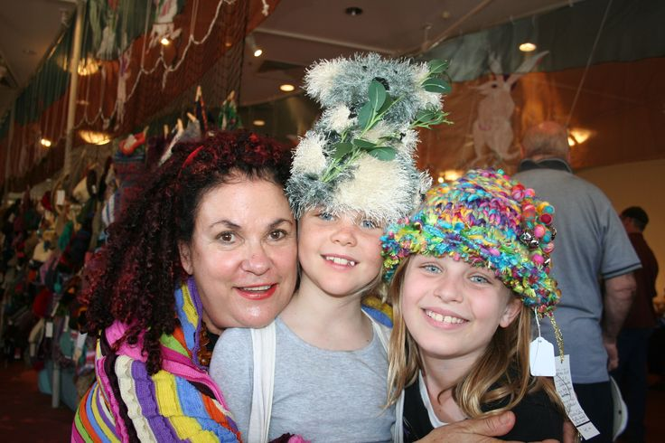 Alice Springs Beanie Festival. Find the perfect hat from among more than 4,000 'beanies' on display during the weekend of music, Beanie Olympics, textile workshops and kid crafts. #NTAustralia