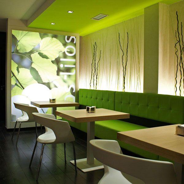 Decoracion locales restaurantes cafeterias bares y - Interior caravanas decoracion fotos ...