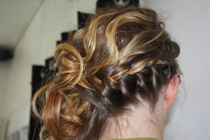 Style done by Stephanie  at La Dolcevita Day Spa and Salon