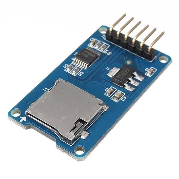 Micro SD TF Card Memory Shield Module SPI Micro SD Adapter For Arduino is available now from our US  warehouse  	Free shipping to US  in 3-6 business days 	ship to Canada, Brazil in 7-10 days  	Micro SD TF Card Memory Shield Module SPI Micro SD Adapter For Arduino 	Features: 	The...