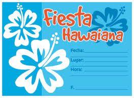 Risultati immagini per modelo de fiesta tematica hawaiana decoracion