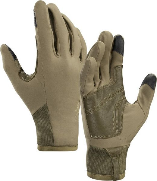 Arc'teryx Cold Weather Glove.  Another lightweight glove, warm but versatile.  Also has touch screen compatible finger tips which is nice.