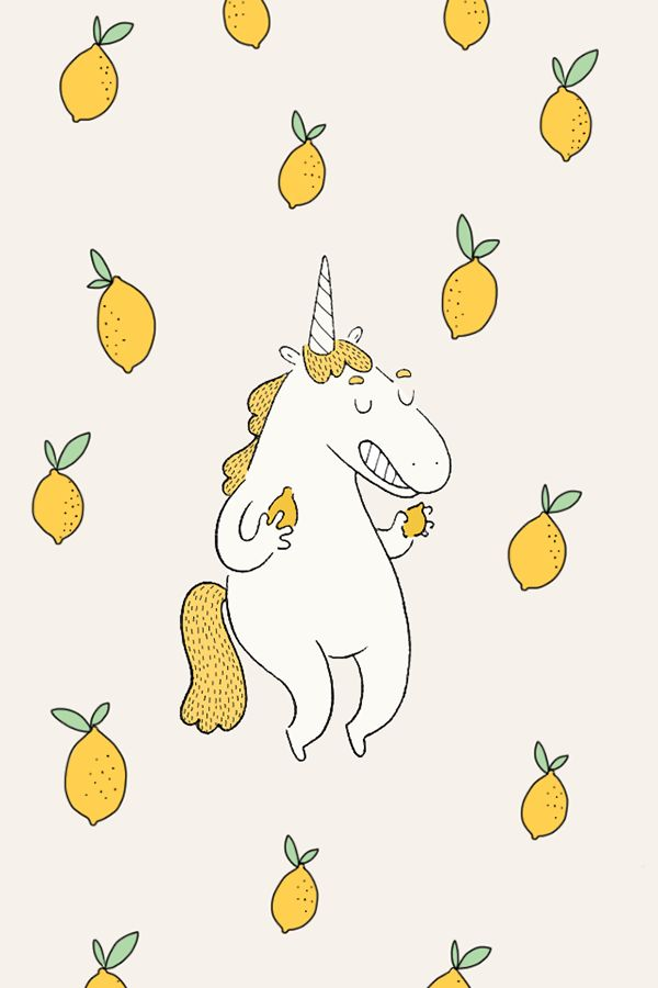 Lemon wallpaper on Behance
