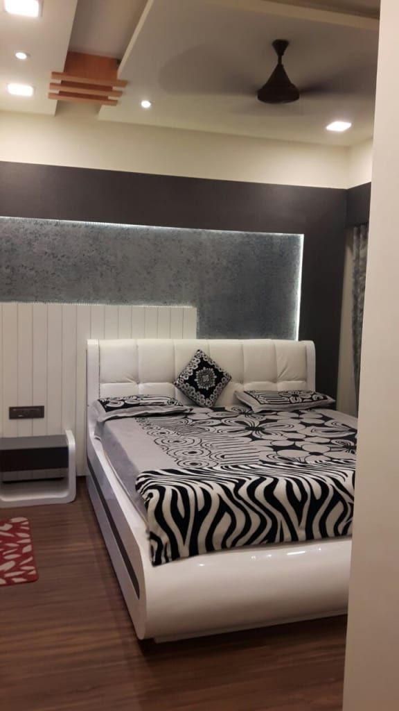 3 Bhk Home At Lodha Palava Dombivli Classic Style Bedroom By