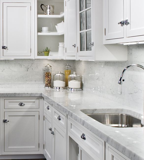 Mouser Cabinetry   White On White