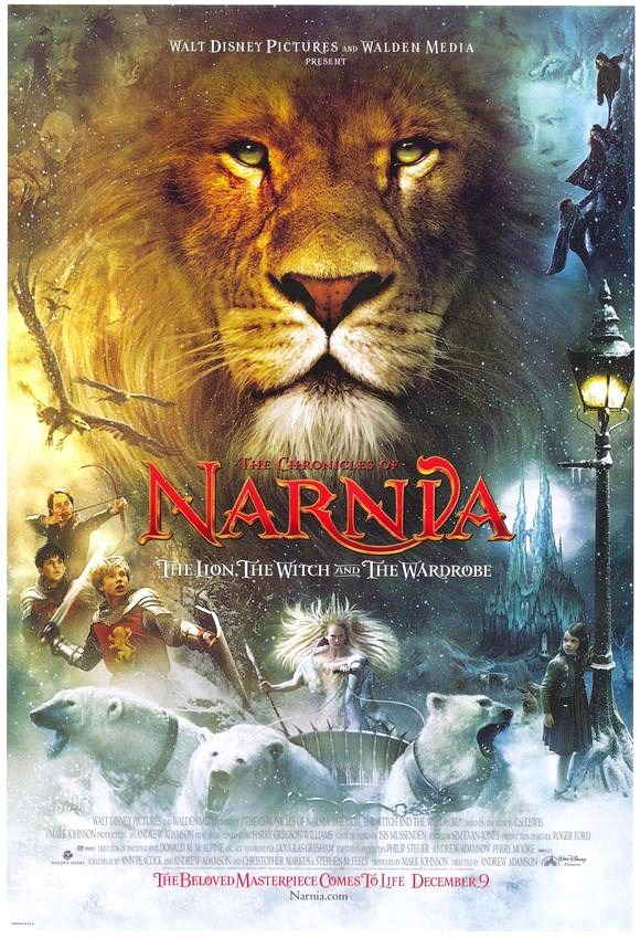 The Chronicles of Narnia: The Lion, the Witch and the Wardrobe (2005) My son read all of the book series as a child. We were excited to see this movie when it came out. Love.