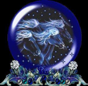Animated Unicorn Snowglobe - unicorns Fan Art