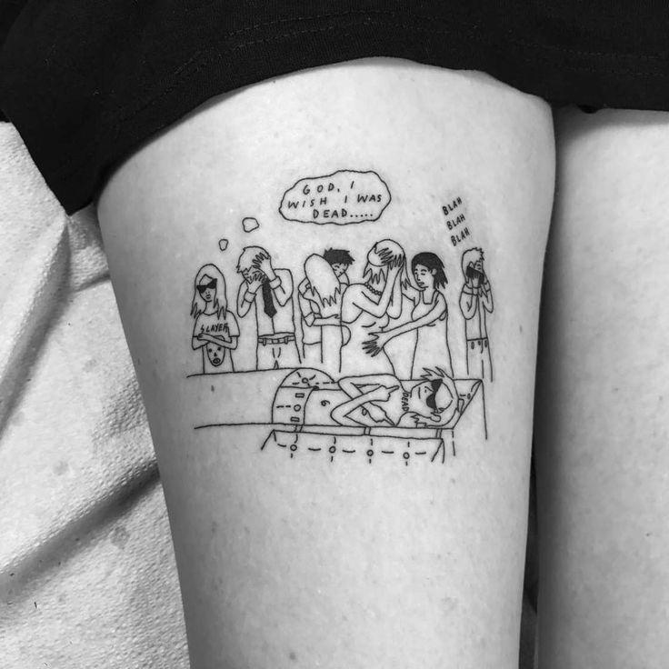 Klassische Tattoo-Motive, wie Blumen, Tierbilder, oder das Geburtsdatum des Kindes, stehen so gar nicht auf dem Plan von TätowiererSean Williams…