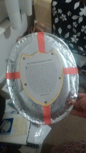 Armor of God shield of faith craft