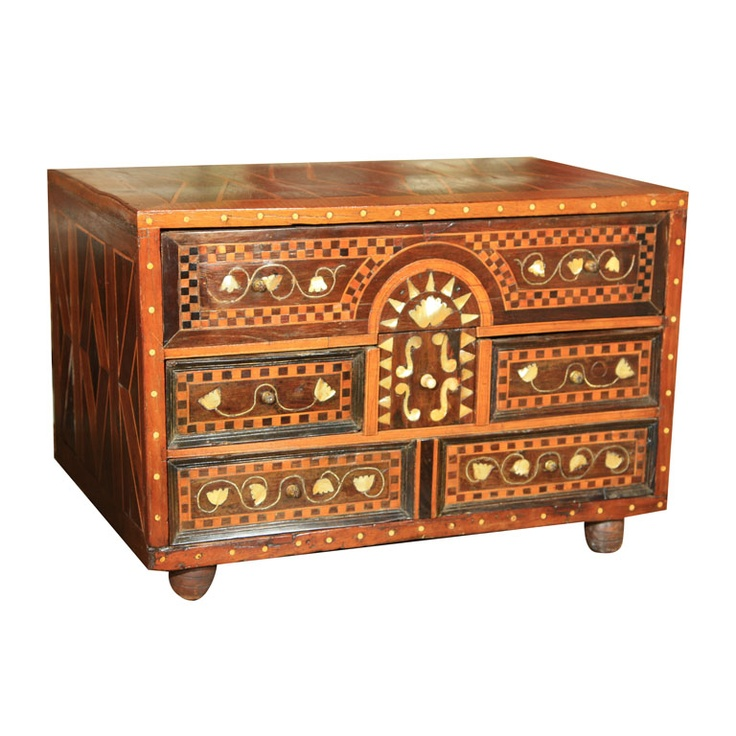 India  19th century  Anglo Indian Chest- some restoratio
