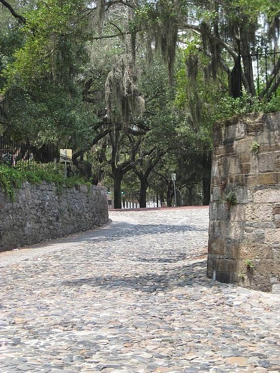 River Street ramp, Savannah, GA