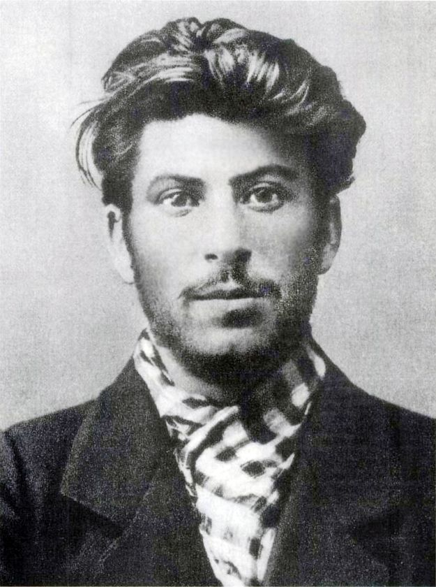 Josef Stalin killed many people...but he was kinda cute. For a killer. He did increase literacy rate among the Russian lower class...soo there's that.