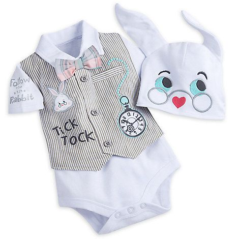 White Rabbit Bodysuit Gift Set for Baby | The Disney Store