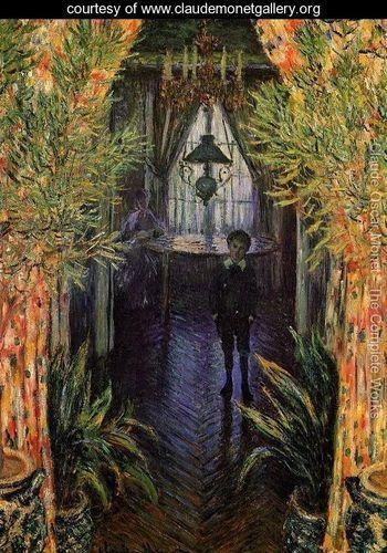 A Corner of the Apartment - Claude Oscar Monet - www.claudemonetgallery.org