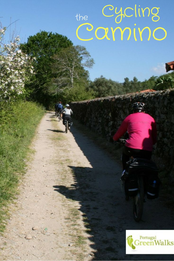 Cycling the Portuguese Camino de Santiago allows you to appreciate the beauty of Portugal's Minho region and Galicia in Spain. The scenery is a glorious blend of greenery with woodland, rivers, valleys, vineyards, fields and traditional villages with their architecture and age-old rural farming practices.  #cycling #caminodesantiago #portugal