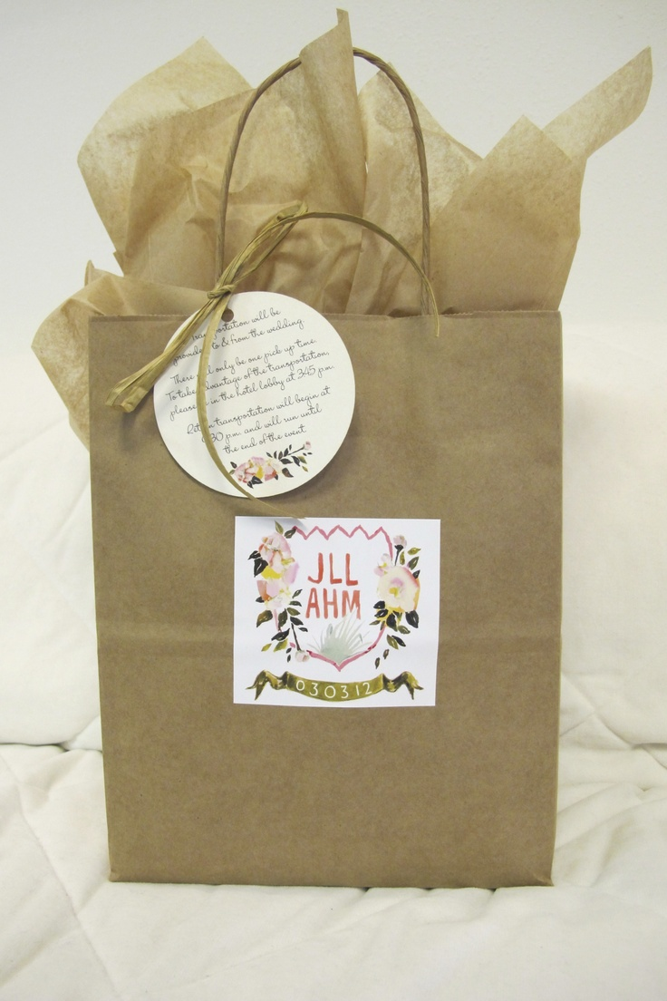 Gifts For Wedding Guests: 15 Best Images About Wedding Party/Guest Gift Ideas On