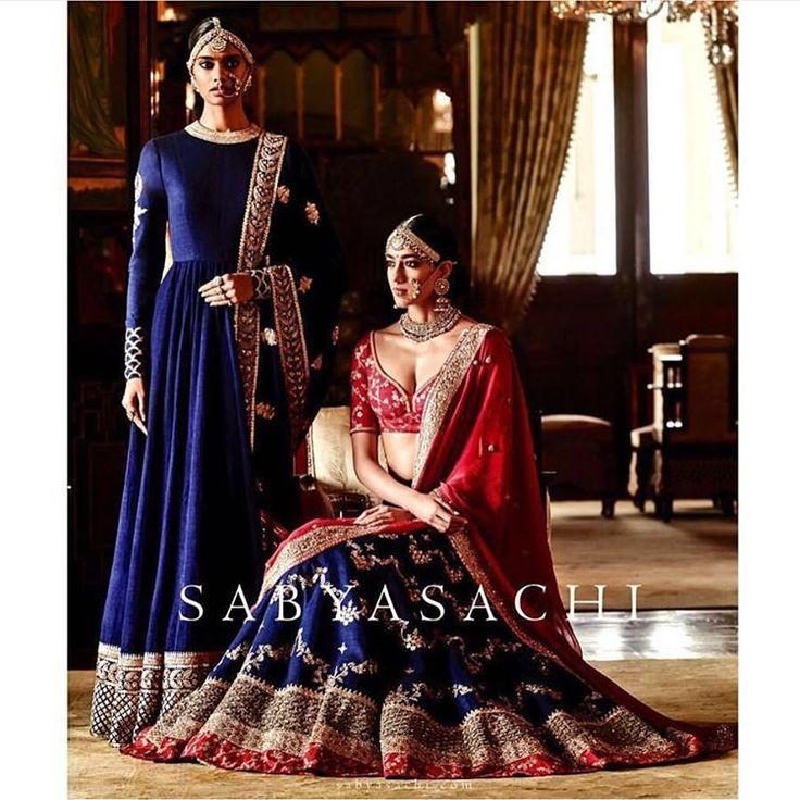A bride's dream wear!!! #sabyasachi #sabyasachisummerweddings2016…
