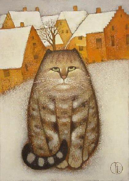 Winter Cat, Trubina Natalya